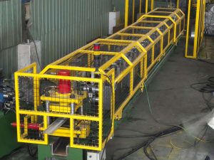 Roller Shutter Lath Machine