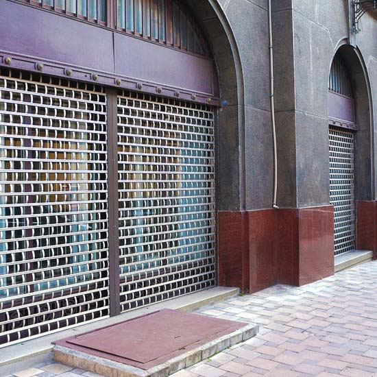 Brickbond Shop Roller Shutters