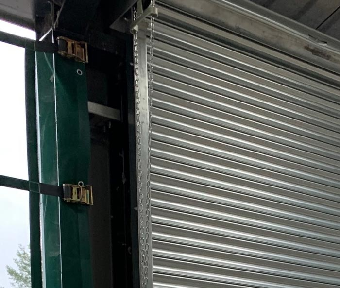 Chain Operated Galvanised Steel Roller Shutter