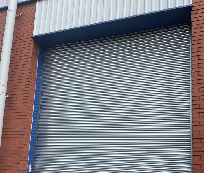 Galvanised Steel Roller Shutter Single Phase Eectric Operation