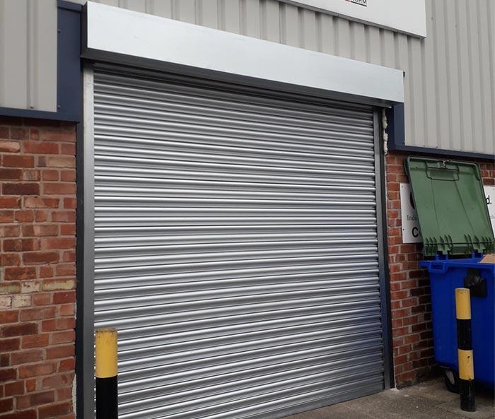 Galvanised Steel Warehouse Roller Shutter