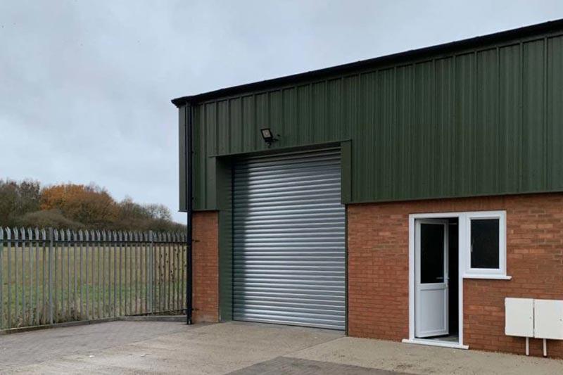 Industrial Insulated Warehouse Roller Shutter