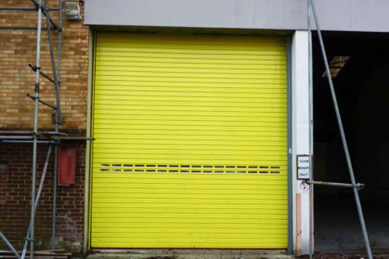 Industrial Vision Panel Roller Shutters