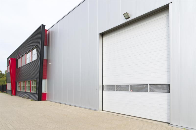 London High Speed Warehouse Door With Vision PanelsLondon High Speed Warehouse Door With Vision Panels