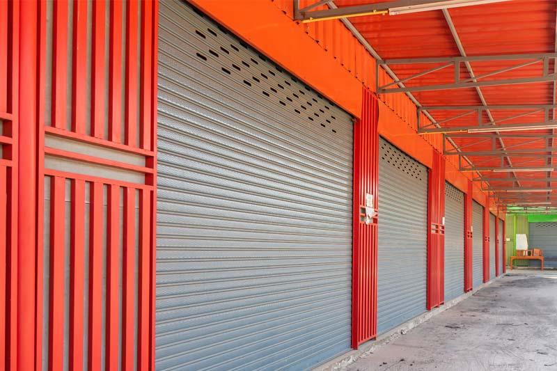 London Market Galvanised Steel Warehouse Roller Shutter