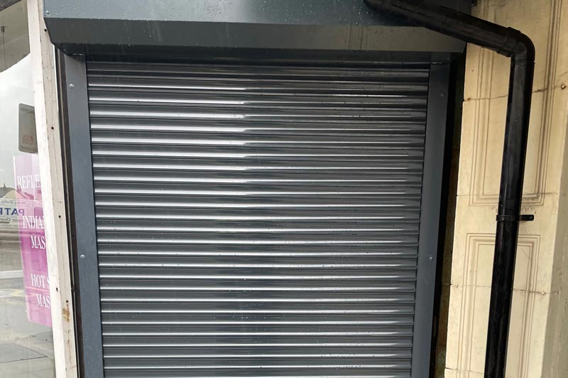 London Powder Coated Domestic Door Roller Shutter