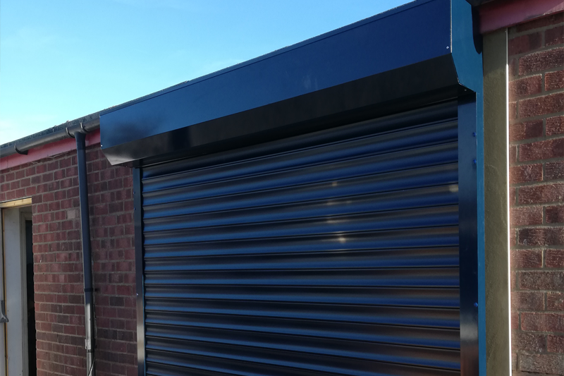 London Powder Coated Domestic Garage Door Roller Shutter