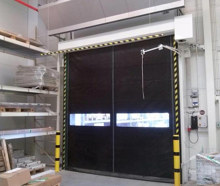 London Self Repairing High Speed Door