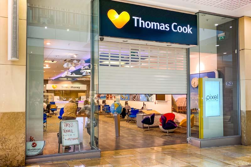 London Shopping Centre Shop Roller Shutter