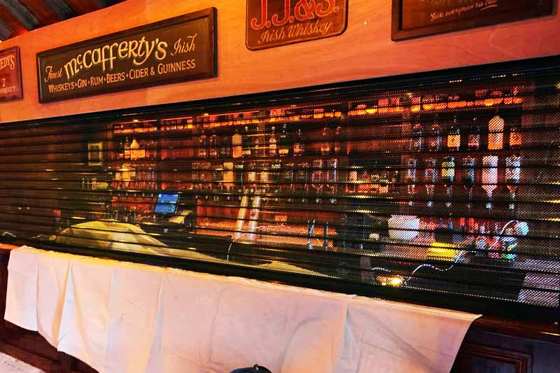 Bar Roller Shutter London