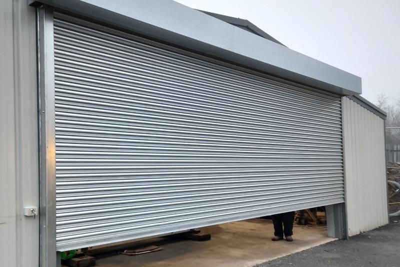 Export Steel Factory Roller Shutter