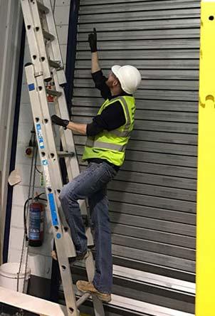 London Roller Shutter Warehouse Repairs