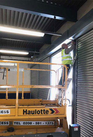 London Warehouse Roller Shutter Repairs