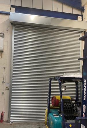 Galvanised Steel London Factory Roller Shutter