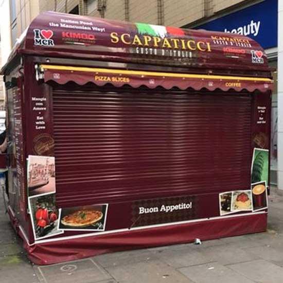 Kiosk Roller Shutter London