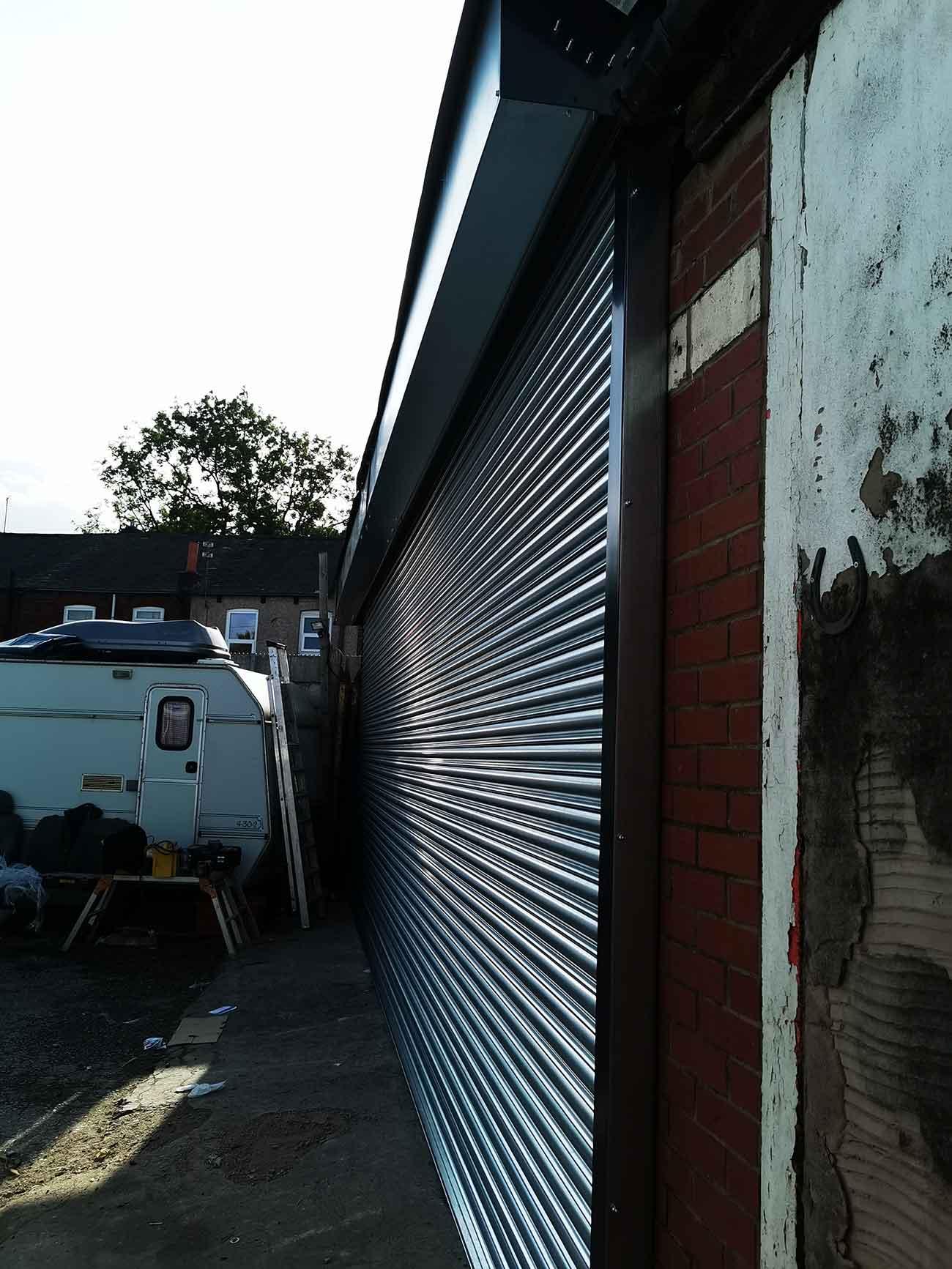 London Steel Garage Roller Shutter